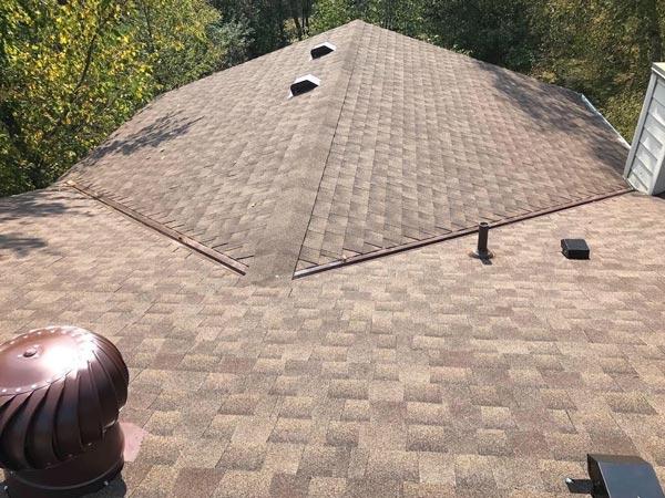 Asphalt Shingle Roofing Project